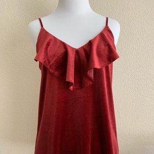 Old Navy - Maroon Velvet tank top